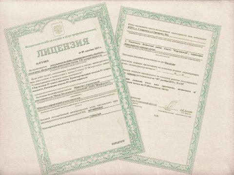 Оценка лицензии