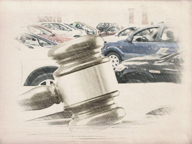 Оценка легкового автомобиля для суда