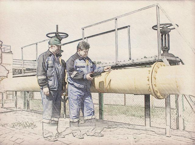 Оценка газопровода для баланса