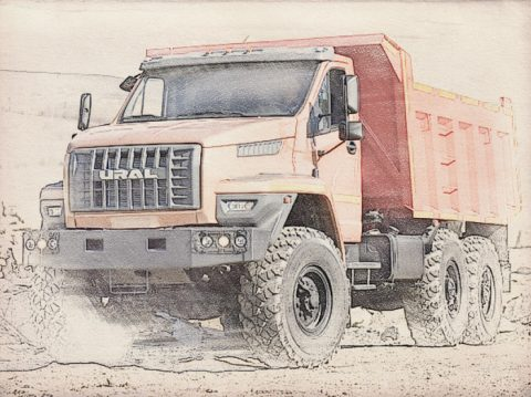 Оценка грузовика для баланса предприятия