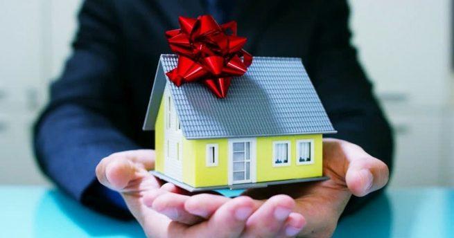 Дар недвижимости и налог